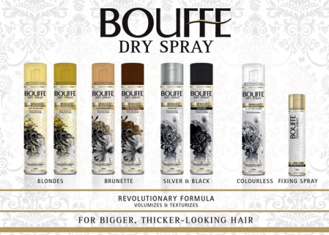 Blogging assignment: UK bloggers needed to review BOUFFE, the world's first revolutionary 'multi-tasking' dry spray