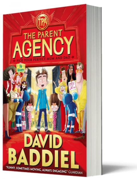 Blogging assignment: Book review and giveaway of The Parent Agency by David Baddiel (UK bloggers)