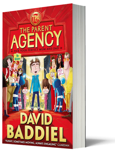 Blogging assignment: Book review and giveaway of The Parent Agency by David Baddiel