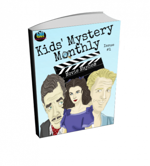 Blogging assignment: Kids Mystery Monthly – an e-magazine for kid detectives (Worldwide bloggers)