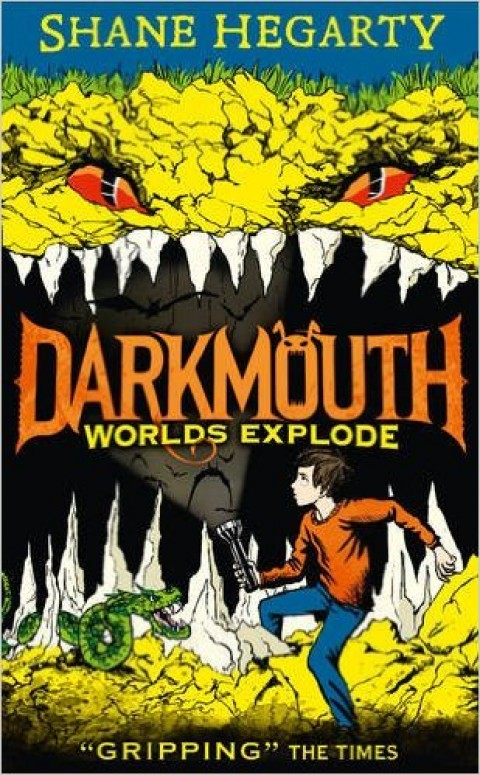 Blogging assignment: Children's Book Review: Worlds Explode (Darkmouth, Book 2) (UK bloggers)