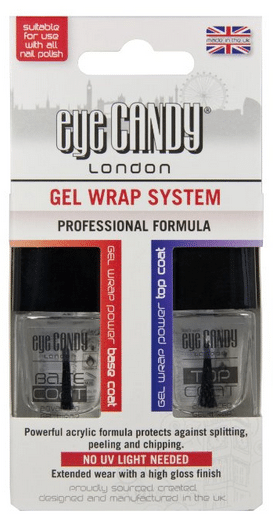 Blogging assignment: Review eye CANDY Gel Wrap Nail System (UK bloggers)