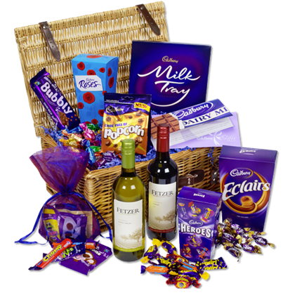 Blogging assignment: Review a huge chocolate hamper from Cadbury's graduation gift line (UK bloggers)