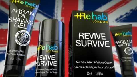 Blogging assignment: UK Male Bloggers: Review Rehab London Male Grooming & Skincare Range