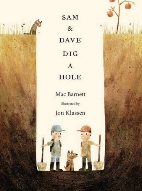 Blogging assignment: Book Review – Sam and Dave Dig a Hole (UK bloggers)