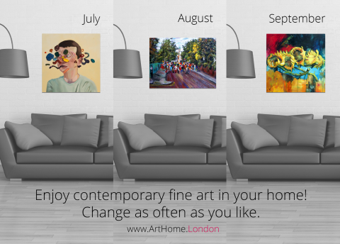 Blogging assignment: Help launch art subscription service for Londoners.