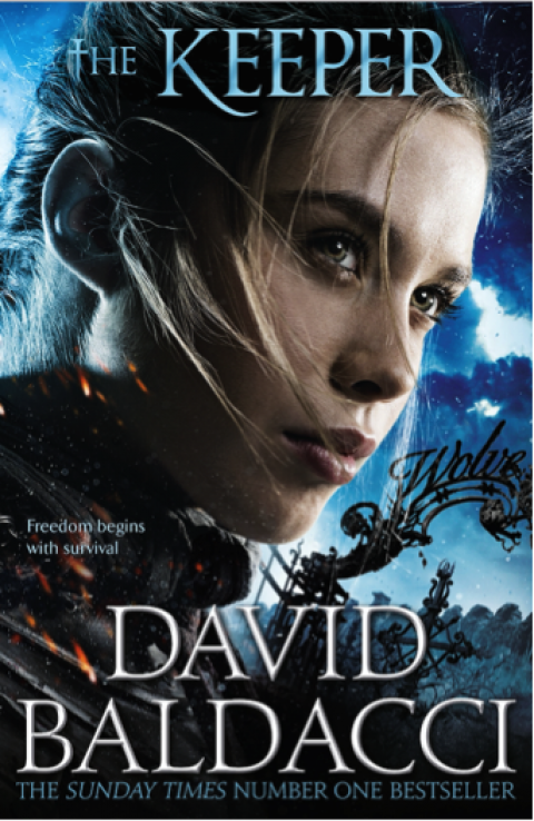 Blogging assignment: The Keeper by David Baldacci – YA and Adult Book Review! (UK bloggers)