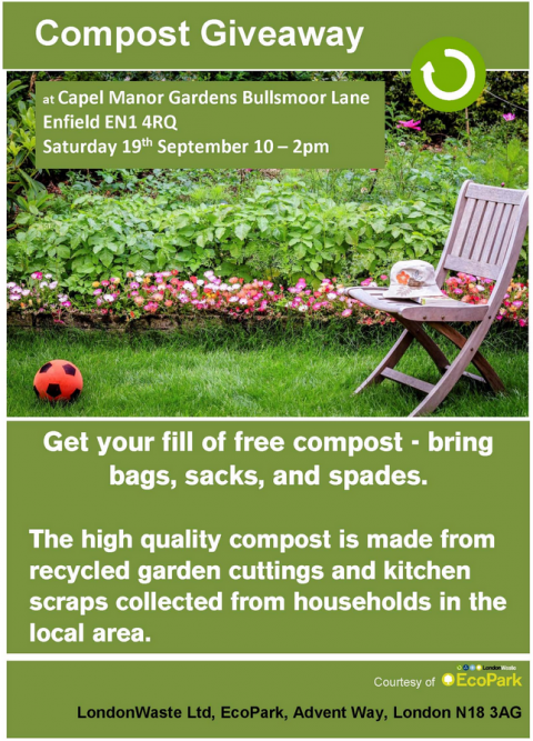 Blogging assignment: Free EcoPark Compost Giveaway 19th September (Bloggers form Enfield and London surrounding areas wanted)
