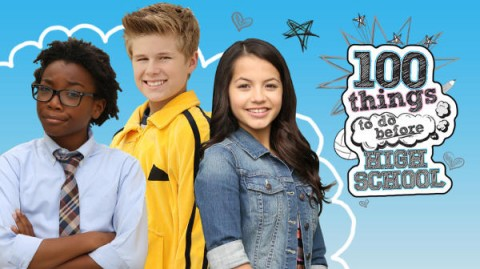Blogging assignment: Nickelodeon – 100 Thing To Do Before High School – Review (UK bloggers)