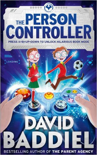 Blogging assignment: Book review and giveaway for The Person Controller by David Baddiel (UK bloggers)