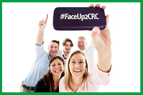Blogging assignment: 3 simple steps to help save a life - it's time to #FaceUp2CRC (European bloggers)