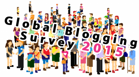 We've launched our 2015 Global Blogging Survey