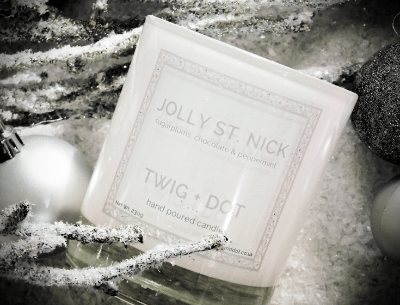 Blogging assignment: UK beauty & lifestyle bloggers wanted to review Twig + Dot Christmas candles or gift set