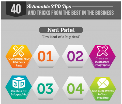 40 actionable SEO tips from the pros (Infographic)