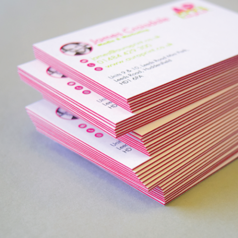 "Blogging assignment: ""Impakt"" Colour Core Business Card Review (UK bloggers)"