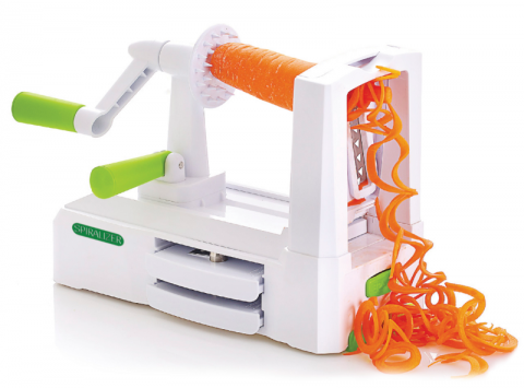 Blogging assignment: UK bloggers needed to review the World famous Tri-Blade Spiralizer Vegetable Slicer.