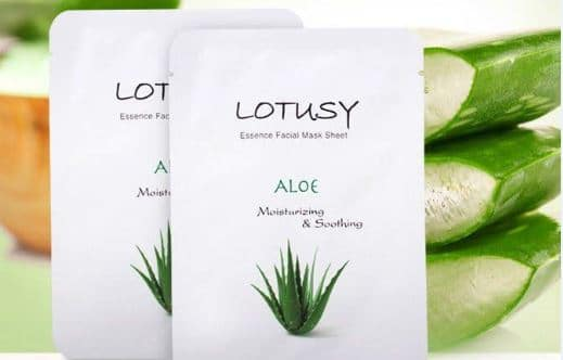 Blogging assignment: Moisturize your skin with Lotusy Essence Facial Mask Sheet (UK bloggers)