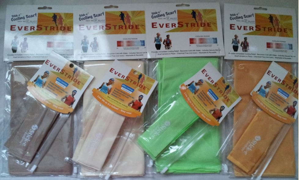 Blogging assignment: Cooling headband and scarf review (UK & European bloggers)