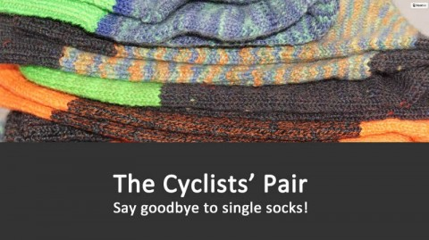 Blogging assignment: The Cyclists' Pair – say goodbye to single socks (Worldwide bloggers)