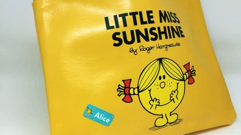 Blogging assignment: Review Mr Men & Little Miss labels from My Nametags! (UK & European bloggers)