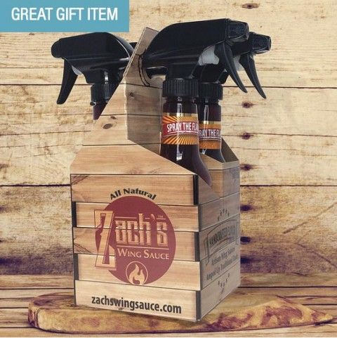 US blogging assignment: Father's Day Gift Idea – Zach's Wing Sauce