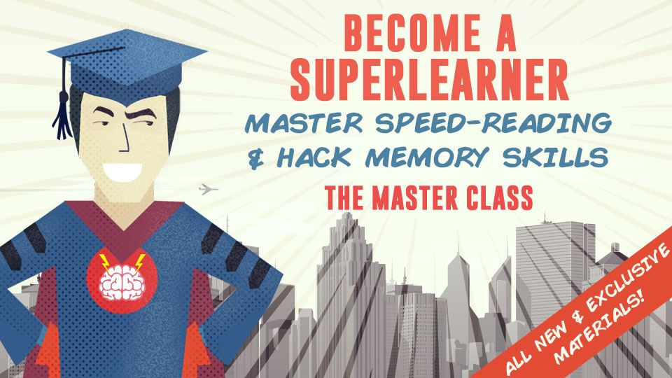 Worldwide blogging assignment: Become a SuperLearner Online Training Program: Triple Reading Speed & Memory Skills in 30 Minutes a Day
