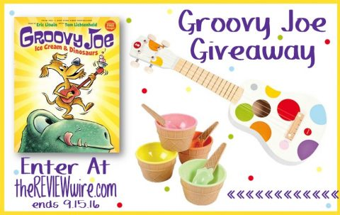 US Giveaway: Groovy Joe: Ice Cream and Dinosaurs Giveaway Prize Pack