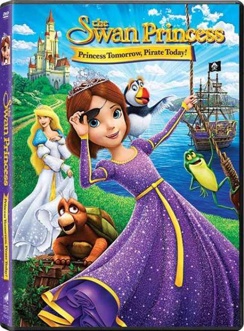 US Giveaway: Swan Princess: Princess Tomorrow, Pirate Today DVD