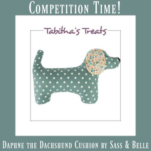 UK Giveaway: Win A Sass & Belle 'Daphne Dachshund' Dog Shaped Cushion From Tabitha's Treats – Closes 09/30/2016