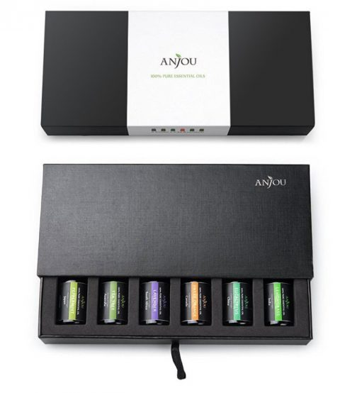 US blogging assignment: Product review request of Anjou Essential Oil Gift Set