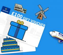 UK Giveaway: Win Ryanair gift vouchers (worth £100.00) – Closes 11/26/2016