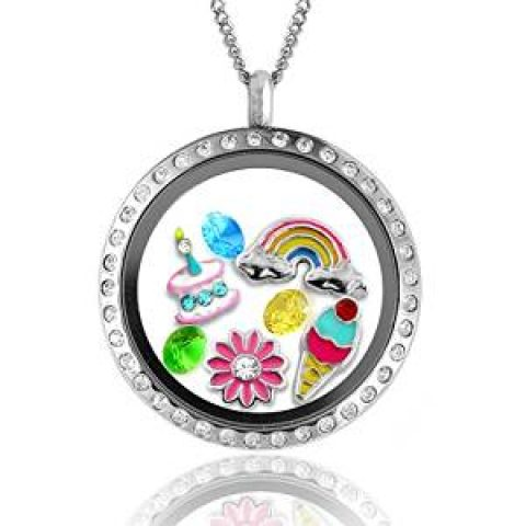 UK Giveaway: Win a 'Happy Birthday' Floating Charms Locket – Closes 10/31/2016