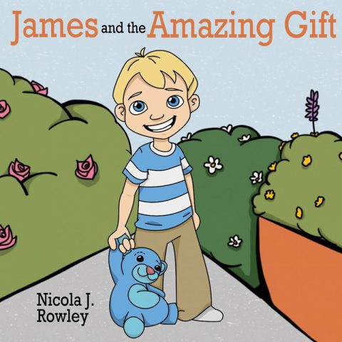 Worldwide blogging assignment: Help to raise awareness about my children's picture book James and the Amazing Gift