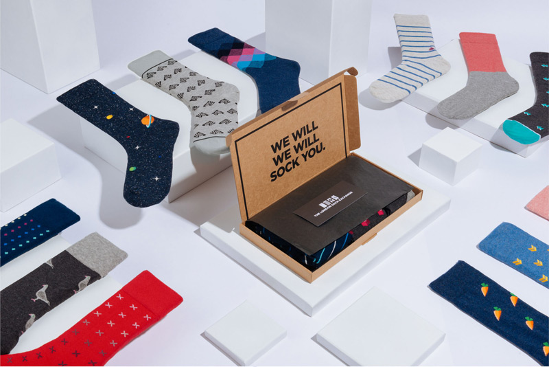 Blogging assignment: The London Sock Exchange - A new sock subscription for men (UK bloggers)