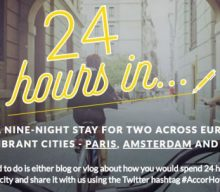 Blogging assignment: Worldwide Travel & Lifestyle bloggers wanted: AccorHotels 24hrs Competition