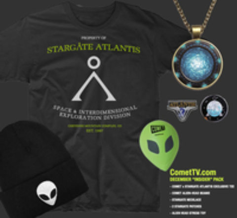 US Giveaway: Win A Stargate Atlantis Prize Pack thanks to Comet TV – Closes 01/06/2017