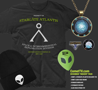 US Giveaway: Win A Stargate Atlantis Prize Pack thanks to Comet TV - Closes 01/06/2017