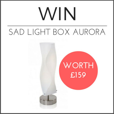 UK Giveaway: Win SAD Light Box Innolux Aurora worth £159 – Closes 01/08/2017