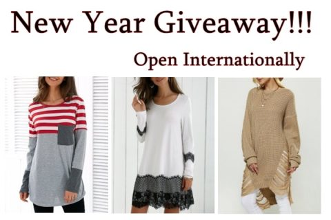 Giveaway: New Year Clothing Giveaway!!! – Closes 01/31/2017