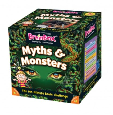 UK Giveaway: BrainBox Myths & Monsters worth £11.99 – Closes 03/09/2017