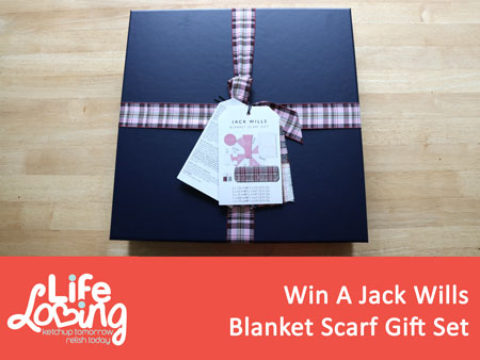UK Giveaway: Win a Jack Wills Blanket Scarf Gift Set – Closes 03/31/2017
