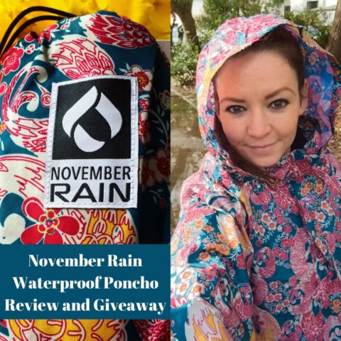 UK Giveaway: Win a stylish November Rain Waterproof Poncho worth of £49 – Closes 03/08/2017