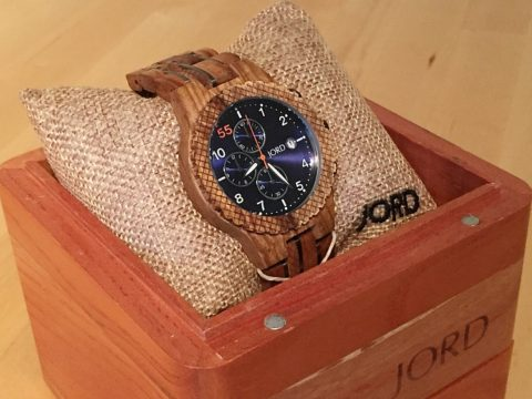 Giveaway: Win a $100 gift code to use at JORD wood watches – Closes 05/03/2017