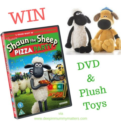 UK Giveaway: Shaun the Sheep Pizza Party DVD Bundle – Closes 02/23/2017