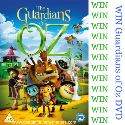 UK Giveaway: WIN The Guardians of Oz DVD – Closes 02/22/2017