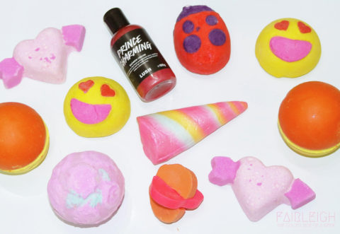 Giveaway: International Giveaway – LUSH Valentine's Day Items – Closes 02/13/2017