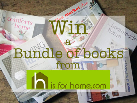 UK Giveaway: Win a bundle of interior décor books – Closes 02/28/2017