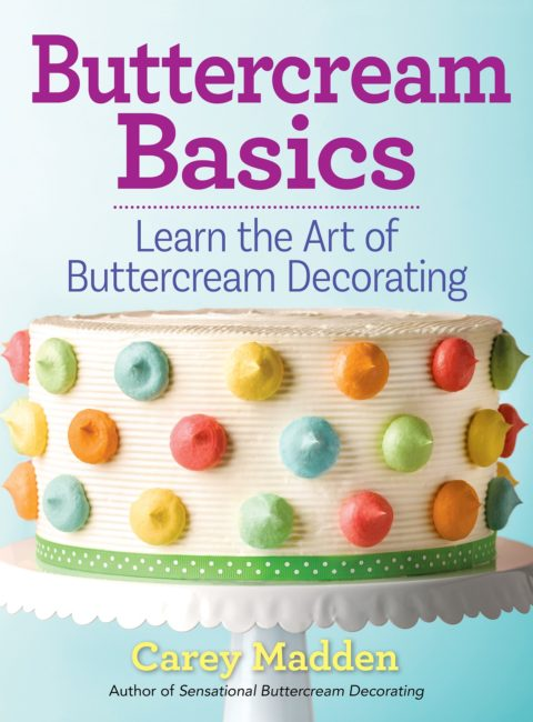 US Blogger Giveaway: Buttercream Basics By Carey Madden – Closes 04/17/2017