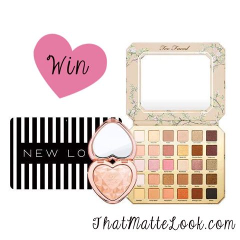 UK Giveaway: Two Faced bundle and £50 New Look gift card – Closes 05/04/2017