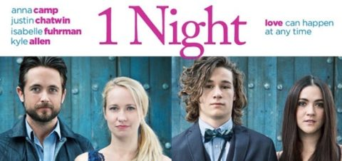 Giveaway: Win 1 Night Starring Pitch Perfect's Anna Camp on Digital HD or Hard Copy – Closes 03/17/2017